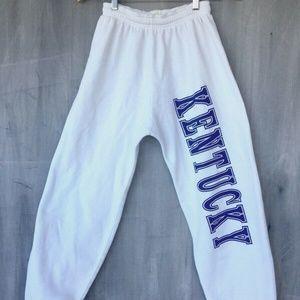 """Kentucky Wildcats Sweatpants Big Logo 27"""" Inseam"""